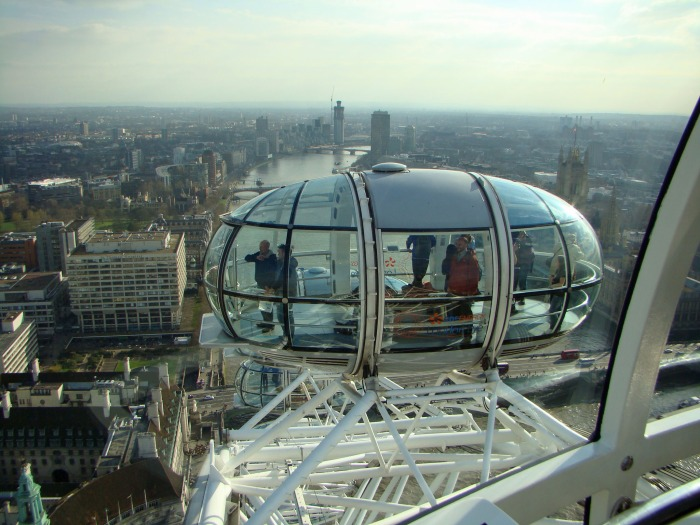 London Eye-A view form the inside