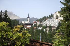 Arosa ski resort Switzerland