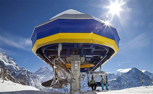Grindelwald Ski Resort Switzerland