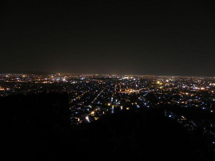 Jaipur Night View From Nahargarh Fort