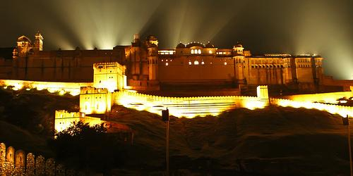 light-and-sound-show-at-Amber-fort